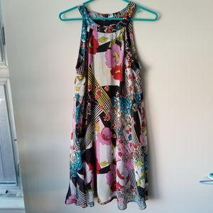 6 Betsy Johnson Floral Dress
